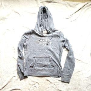 Hollister hoodie gray youth size L